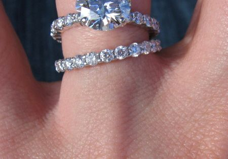 i the idea of a simple engagement ring and then a