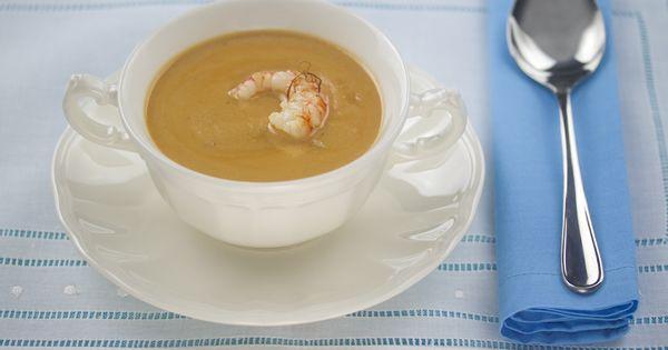 Crema f cil de marisco recetas cocina pinterest mariscos sopas y thermomix - Cocina facil y saludable thermomix ...