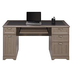 Realspace Magellan 59 W Managers Desk Gray Item 751724 Grey