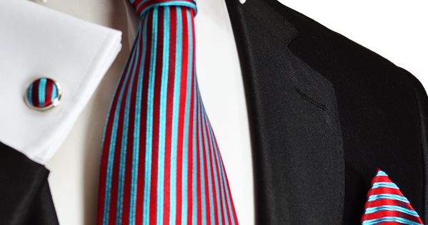 Red ties, Red turquoise and Neckties on Pinterest