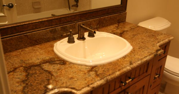 Granite bathroom countertops copper granite vanity countertop granite countertops las vegas - Bathroom cabinets las vegas ...