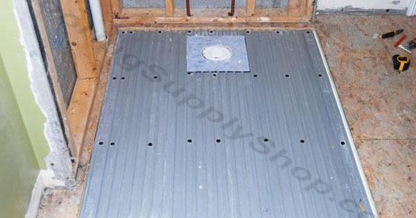 Clearpath Curbless Shower Pan System Complete Floor Kit For