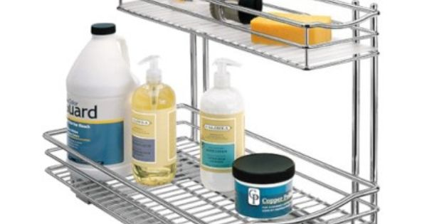 Lynk Professional 174 Pull Out Under Sink Drawer 2 Tier