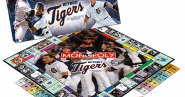 Monopoly Detroit Tigers Collector S Edition Usaopoly Monopoly Detroit Tigers Games