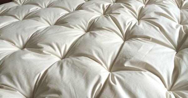 Make It Organic Cotton Amp Wool Mattress Topper
