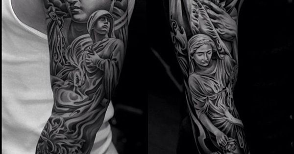 Tattoo by jun cha at lowrider tattoo studios in fountain for Tattoo shops in moreno valley