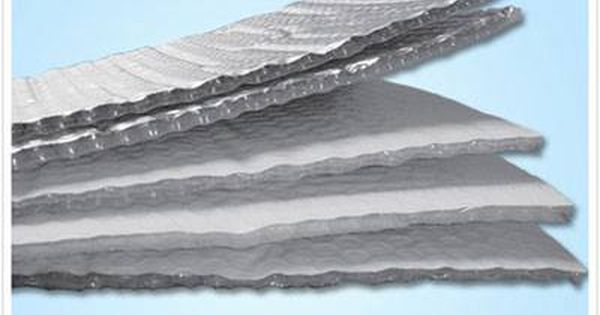 Radiant Barrier Foil Radiant Barriers Are Installed In Homes Usually In Attics Reflective Insulation Thermal Insulation Materials Bubble Foil Insulation