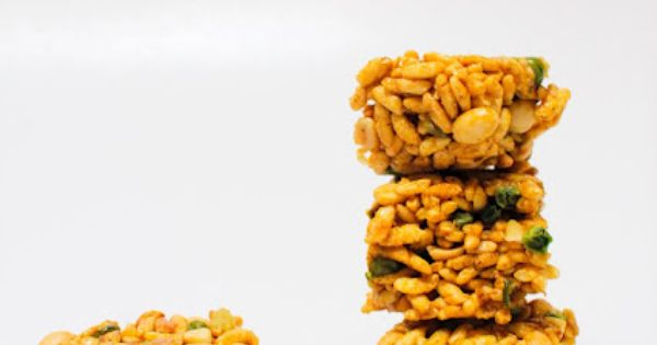 Indian Spiced Krispies | Yum - Desserts | Pinterest | Indian