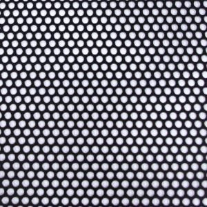 M D Building Products 36 In X 36 In Small Hole Aluminum Sheet In Black 84327 Aluminum Sheet Metal M D Building Products Perforated Metal
