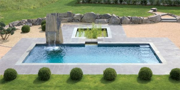 Tolle Gestaltungsidee Fur Pool Im Garten Natur Pool Poolgestaltung Pool Im Garten