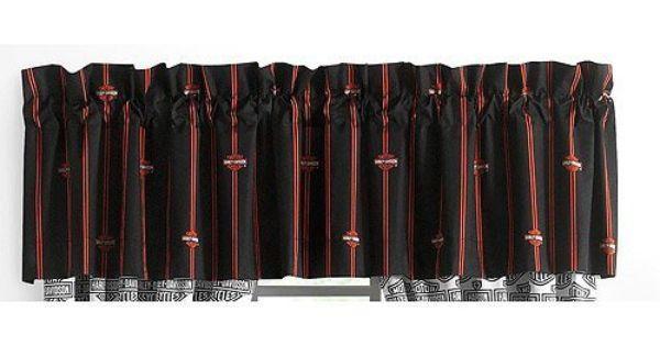 harley davidson flame rider fireball valance by harley davidson. Black Bedroom Furniture Sets. Home Design Ideas