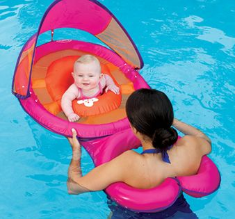 Swimways Baby Spring Float Sun Canopy Mommy And Me Baby