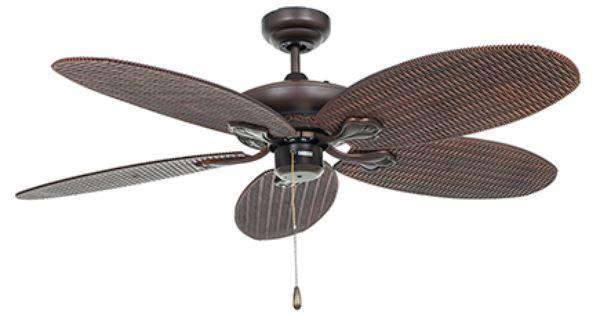 Ventilador de techo lampself moca marr n leroy merlin for Leroy merlin ventiladores