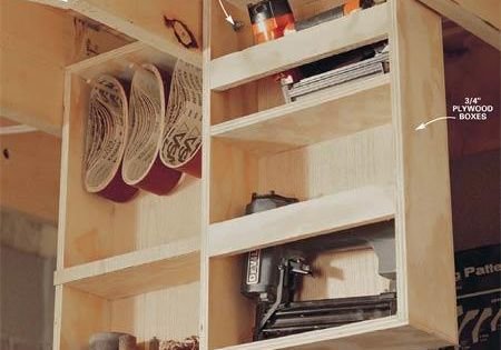 This Attic Pulley Storage System Is Genius If You Have A Bad Back Workshop Storage Ceiling Storage Hanging Storage