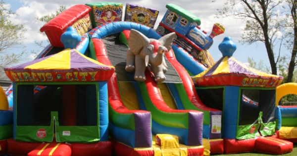 In My Dreams Circus City Its My Birthday Water Slide Rentals