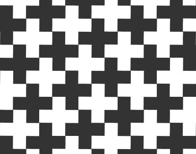 Ambiguous,Animation,Tessellation Positive and Negative | An Optical Illusion I came across this