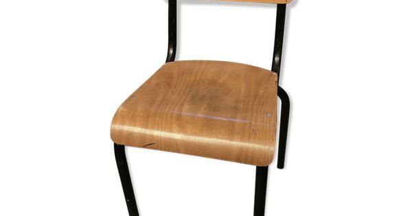 Chaises D Ecole Vintage Selency Chaise Ecolier Chaise Ecole Ecole Vintage