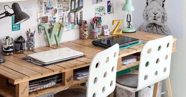 schreibtisch idee f r das jugendzimmer home pinterest jugendzimmer schreibtische und. Black Bedroom Furniture Sets. Home Design Ideas