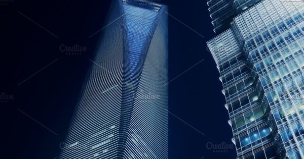 Shanghai buildings – office tower