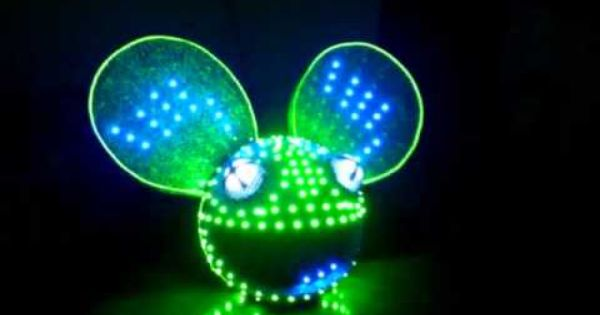 Best Deadmau5 Head Homemade Led Must Watch Insane Helmet Deadmau5 Head Good Music Led