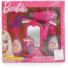 Barbie Bathing Beauty Set Includes Play Hair Dryer Mirror Comb Barrettes Bubble Bath And Shampoo Beauty Salon Http Beauty Sets Best Christmas Toys Barbie