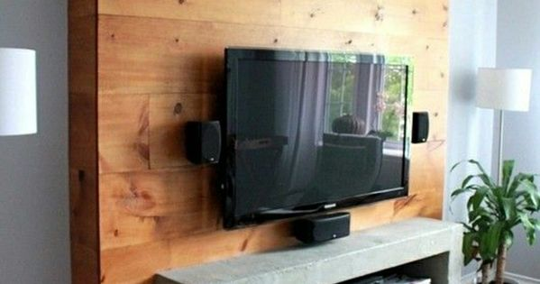 le meuble t l en 50 photos des id es inspirantes meuble tv ikea tv ikea et mur de bois. Black Bedroom Furniture Sets. Home Design Ideas