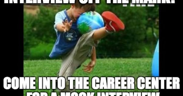 to promote mock interviews scu career center memes pinterest