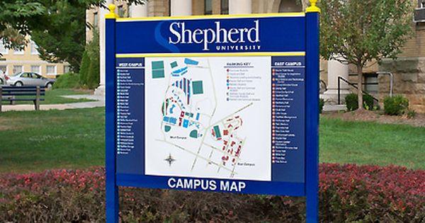 shepherd university campus map Post Panel Cabinet Shepard University Jpg 420 260 Campus Map shepherd university campus map