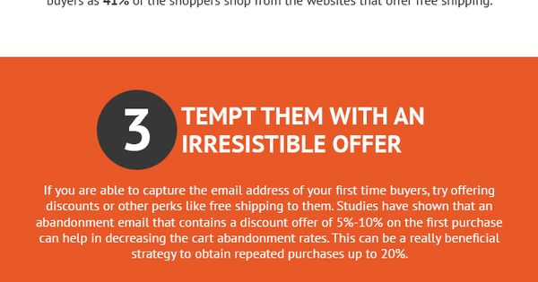 Win Back Prospects with Better Cart Abandonment Emails [INFOGRAPHIC]