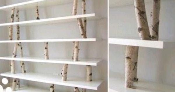 Leuke en originele manier om een boekenkast te maken stuff that i want to get pinterest - Deco originele wc ...