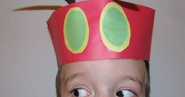 Easy to make Party Hats WorldEricCarle HungryCaterpillar