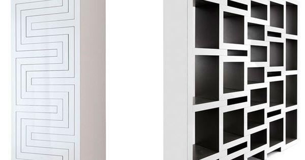 REK Bookcase by Reinier de Jong // REK is a bookcase that