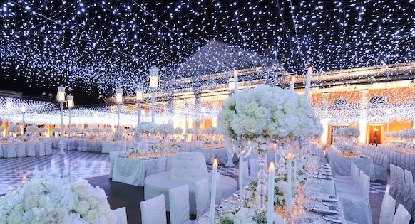 Starry Night! Love lights for the wedding or any event really