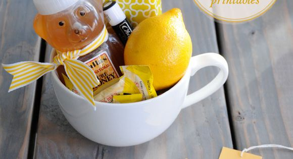 get well soon gift basket | such a cute idea (for adults