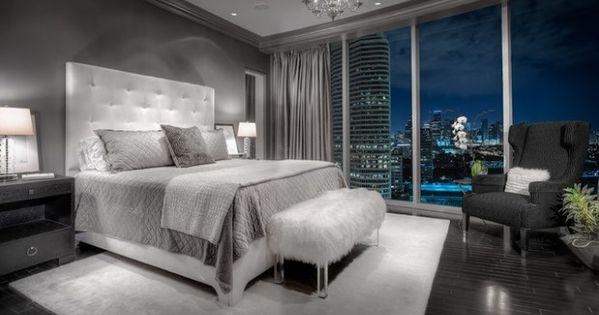 Gray Master Bedroom Design Ideas