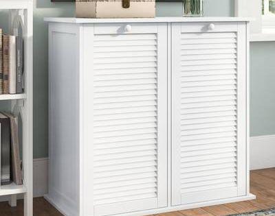 Manzanola Shoe Storage Bench Laundry Hamper Room Storage Diy