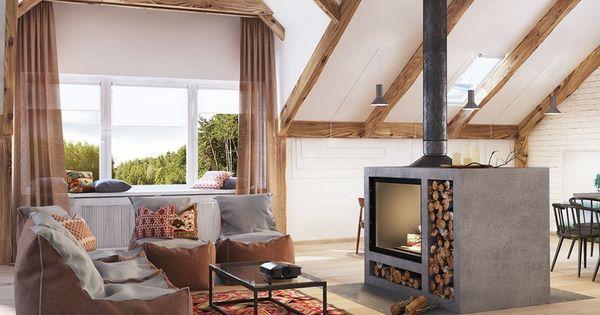 beautiful brennholz lagern ideen wohnzimmer garten gallery - house