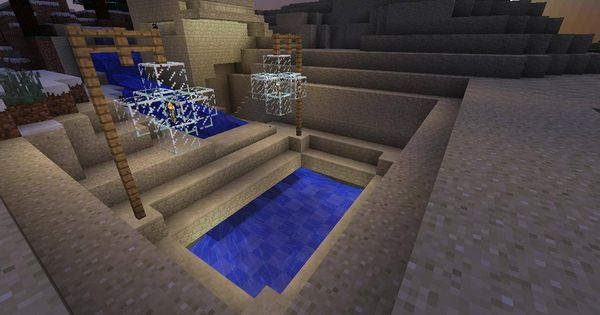MineCraft Swimming Pool Design Home Ideas In And Out