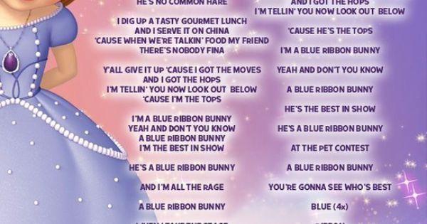 Perfect slumber party lyrics sofia popular sofia the first songs