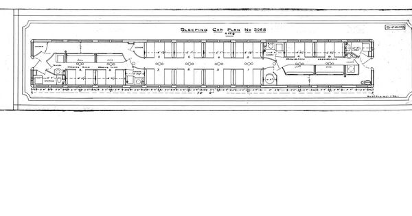 Amtrak Sleeping Car Diagrams In 2020 Amtrak Train Car Diagram