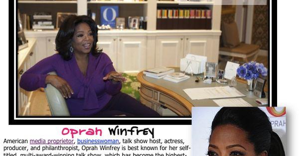 Research on oprah winfrey