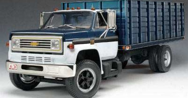 Highway 61 50318 Chevy C65 Grain Truck Truck Camper Old Trucks Trucks