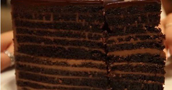 Sudamerica Cabaña Fabricación  Michael Jordan's Chocolate Cake | Chocolate cake, Chocolate, Chocolate  layer cake