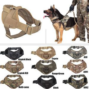 Details About Tactical Dog K9 Training Patrol Vest Harness 2