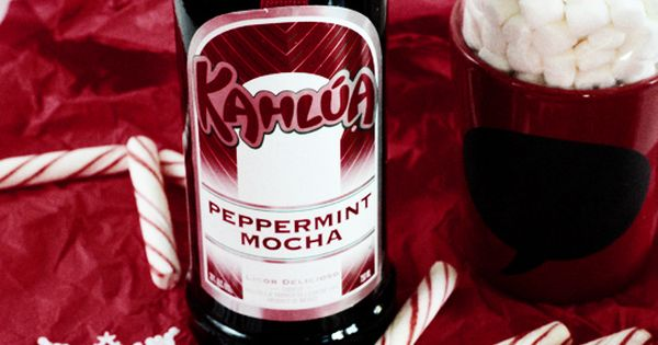 Recipe: Kahlua Peppermint Mocha Hot Chocolate   Peppermint Mocha and ...