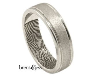Pin By Loralie Love On Jewelry Fingerprint Wedding Bands Black Diamond Engagement Ring Set Black Diamond Ring Engagement