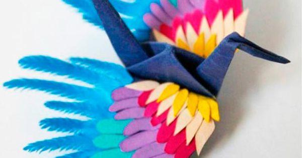 icarus mid air les 1000 grues en origami de cristian marianciuc l gende japonaise grue et. Black Bedroom Furniture Sets. Home Design Ideas