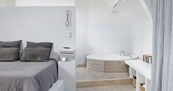 Comment int grer une salle de bain dans une chambre for Creer une salle de bain dans une chambre