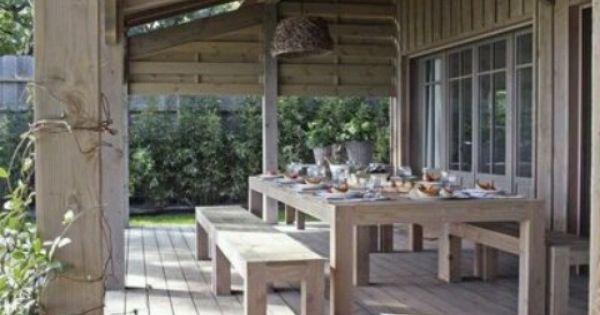 Buitenleven mooi pinterest buitenleven terras en tuin - Pergola provencaalse ...
