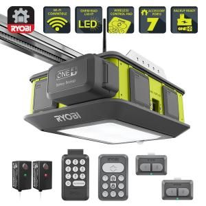 Ryobi Introduces The Ultra Quiet 2 Hp Belt Drive Garage Door Opener The Ryobi Ultra Quiet Garage Door Garage Doors Garage Door Opener Quiet Garage Door Opener